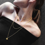 Gold Swedish Malin Necklace