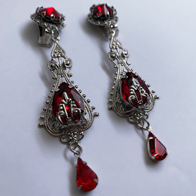 Countess Bathory Drop Earrings
