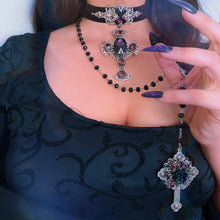 Nocturna Black Rose Rosary