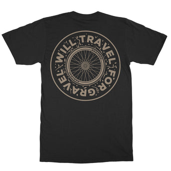 T-shirt - Will Travel For Gravel