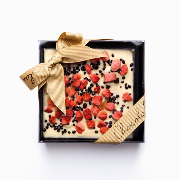 CHOCOLALA CHAMPAGNE & STRAWBERRY TABLET (100gm)