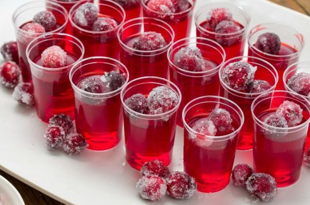 Thanksgiving Jell-O Shots