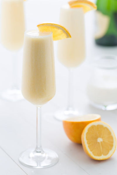 Creamsicle Mimosas are Perfect to Start the Weekend!