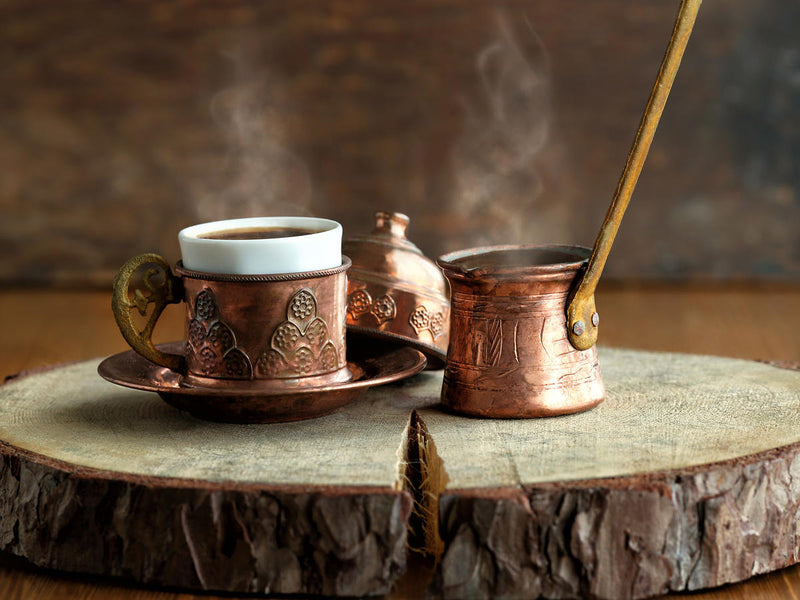 How to make a Turkish coffee as if you were in Turkey