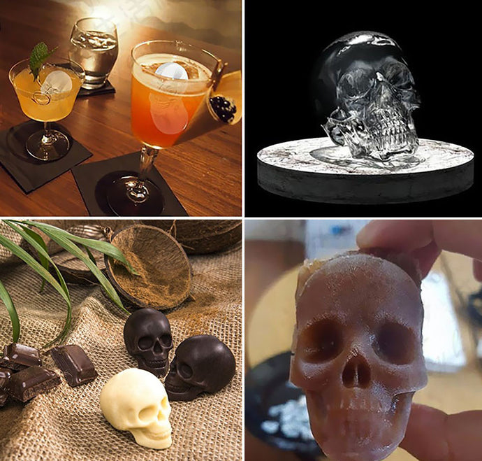 3D Skulls Ice Tray | Your Magic Mug