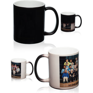 Custom Color Changing Mugs - Add Your Own Design, Logo or Picture | Your Magic Mug