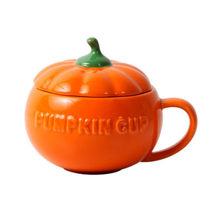 Funny Pumpkin Cup with Lid - Your Magic Mug.com