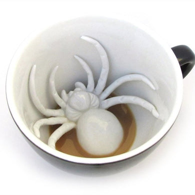 3D Spider or Dinosaure Mug