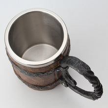 Wooden Barrel & Stainless Steel Tankard | Your Magic Mug