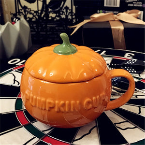 Funny Pumpkin Cup with Lid