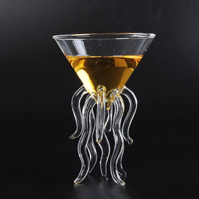 Octopus Cocktail Glass