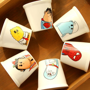 Cute Super Hero Cartoon Mugs | Your Magic Mug
