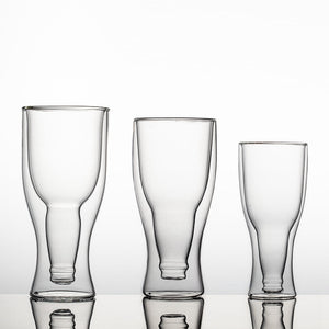 Double Layer Beer Glass