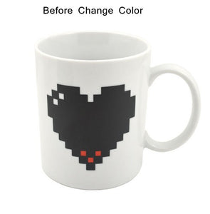 Pixelated Heart | Your Magic Mug