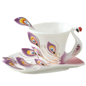 Peacock Porcelain Kit | Your Magic Mug