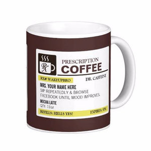 Customizable Prescription Mugs | Your Magic Mug