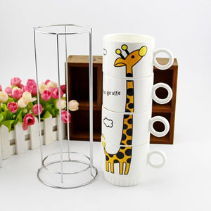 Giraffe Cup Set | Your Magic Mug