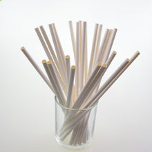 Black Paper Straws 25pcs/lot