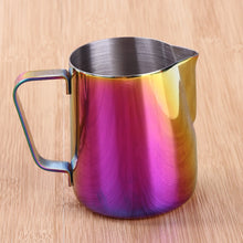 Rainbow Stainless Steel Frothing Jug | Your Magic Mug