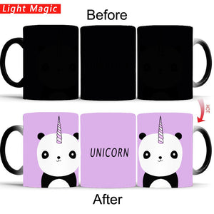 Unicorn Panda Magic Mug Heat Sensitive Mug | Your Magic Mug