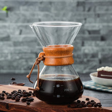 Glass & Stainless Pour-Over Coffee Maker | Your Magic Mug