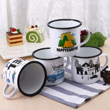 Enamel Mugs - Traveling and Camping Collection