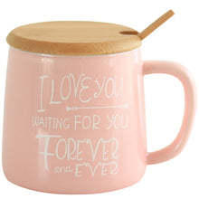 Cute Pink Flamingo Mug with Lid and Spoon | Your Magic Mug