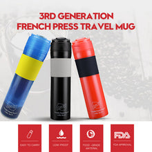 Portable French Press Coffee Bottle | Your Magic Mug