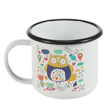 Cute Owl Enamel Mug | Your Magic Mug