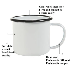 Eco-Friendly Enamel Mug | Your Magic Mug