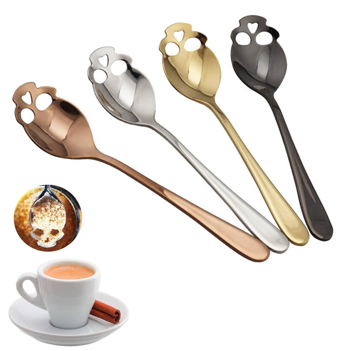 Stainless Steel Skull Spoon | Your Magic Mug