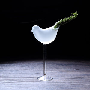 Bird Shaped Cocktail Glasses - Set of 4 | Your Magic Mug