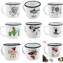Enamel Mugs - Animals & Plants Collection