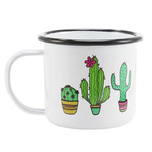 Enamel Mugs - Animals & Plants Collection Cacti Cactus | Your Magic Mug