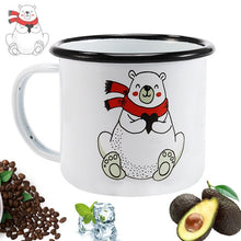 Enamel Mugs - Animals & Plants Collection Polar Bear | Your Magic Mug