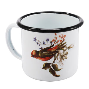 Enamel Mugs - Animals & Plants Collection Bird | Your Magic Mug