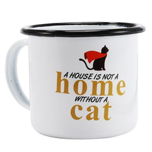 Enamel Mugs - Animals & Plants Collection Super Cat | Your Magic Mug