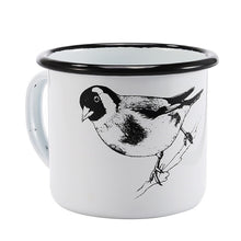 Enamel Mugs - Animals & Plants Collection Black Bird | Your Magic Mug