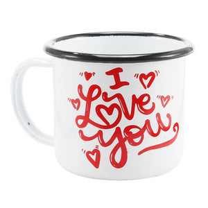 Enamel Mugs - Animals & Plants Collection I Love You | Your Magic Mug