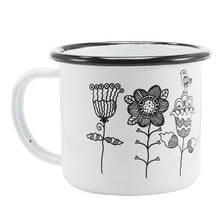 Enamel Mugs - Animals & Plants Collection Flowers | Your Magic Mug
