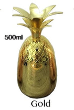 Metallic Pineapple Tumblers - Available in 3 different colors: Gold - Copper - Silver | Your Magic Mug