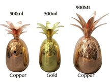 Metallic Pineapple Tumblers -  3 Colors