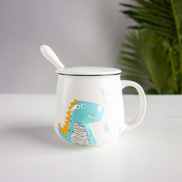 Mr Dinosaur & Mr Crocodile Mug