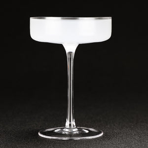 Flat Cocktail Martini Glasses - Set of 4 | Your Magic Mug