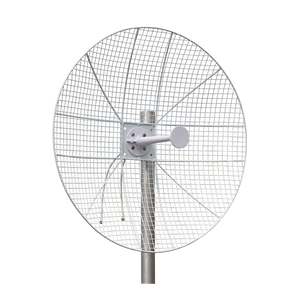 5GHz 28dBi  Dual Polarization Mesh Grid Dish Antenna for Less Wind Load  1-Pack