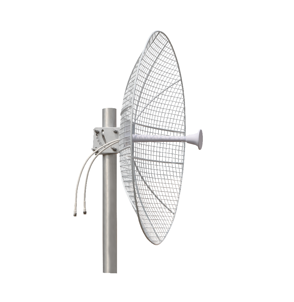 MimoTik 5GHz 28dBi MIMO Grid Dish Antenna less Wind Load 4