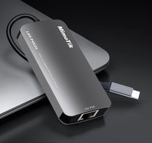 USB-C to Gigabits POE Ethernet Adapter 24 Passive POE for devices and data transmission