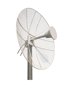 2.3-2.7GHz 22dBi Parabolic MIMO Grid Dish Antenna for Less Wind Load 4-Pack