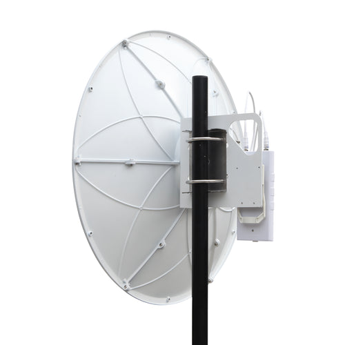 5Ghz 30dBi  Dual Polarization Parabolic Dish Antenna,Reflector assembled by 6 sectors on site to reduce shipping cost 2-Pack