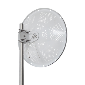 5GHz 28dBi 2x2 Dual Pol Dish Antenna with Reduced Wind Load  4-Pack